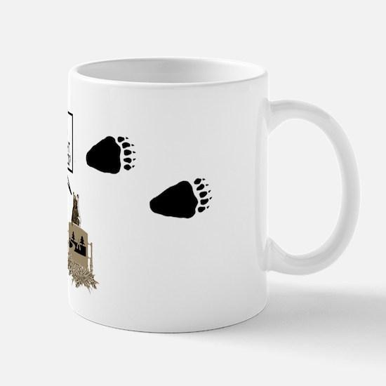 Anti-Fat Kid Grizzly Bear Mug