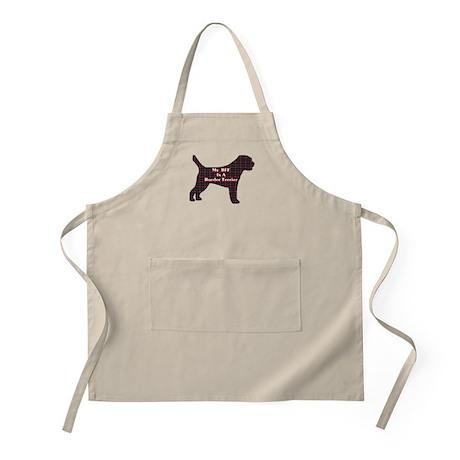BFF Border Terrier BBQ Apron