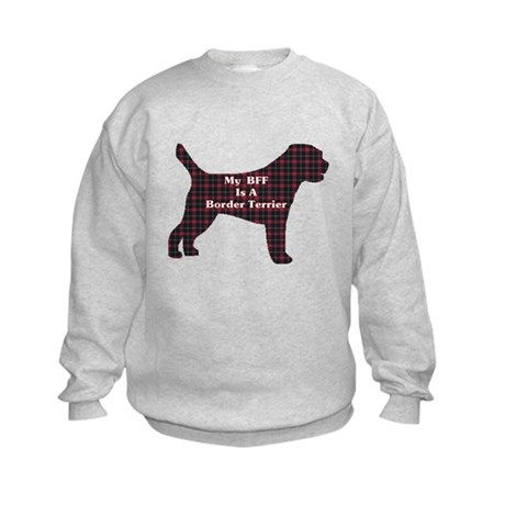 BFF Border Terrier Kids Sweatshirt