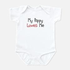 My Pappy Loves Me Infant Bodysuit