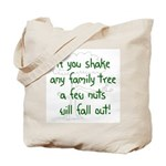 Shaking Family Tree (Green) Tote Bag