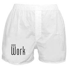 Mom: At Work Boxer Shorts