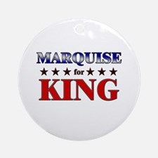 MARQUISE for king Ornament (Round)