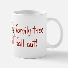 Shaking Family Tree (Red) Mug