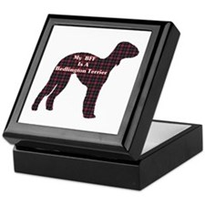BFF Bedlington Terrier Keepsake Box