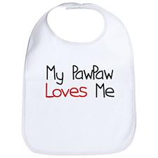 My PawPaw Loves Me Bib