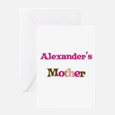 Alexander's Mother Greeting Card