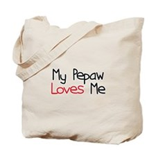 My Pepaw Loves Me Tote Bag