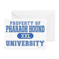 Pharaoh Hound U. Greeting Cards (Pk of 20)