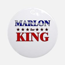MARLON for king Ornament (Round)
