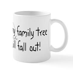 Shaking Family Tree (Black) Mug