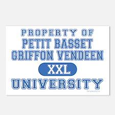 P.B.G.V. University Postcards (Package of 8)