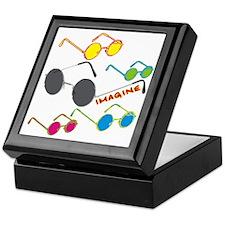 Imagine Glasses Colors Keepsake Box