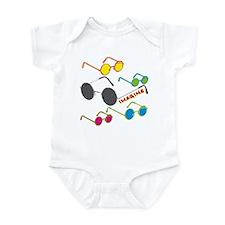 Imagine Glasses Colors Infant Bodysuit