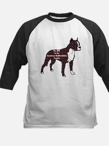 American Staffordshire Terrier Kids Baseball Jerse