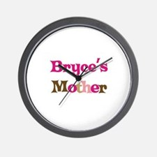 Bryce's Mother  Wall Clock