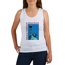 Being an American Citizen Rocks! Women's Tank Top