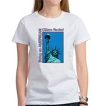 Being an American Citizen Rocks! Women's T-Shirt