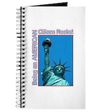 Being an American Citizen Rocks! Journal
