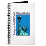 Being an American Citizen Rocks! Journal