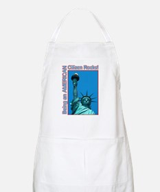 Being an American Citizen Rocks! BBQ Apron