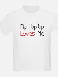My PopPop Loves Me T-Shirt