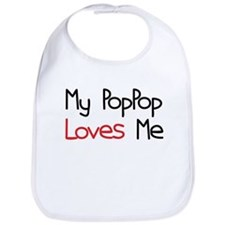 My PopPop Loves Me Bib