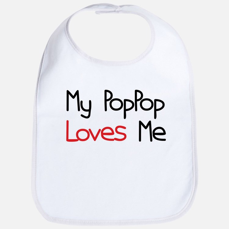 My PopPop Loves Me Bib