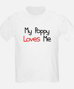 My Poppy Loves Me T-Shirt