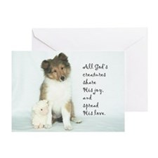 Easter Puppy Card