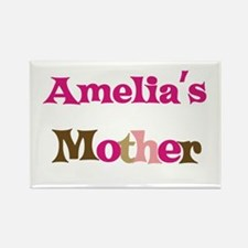 Amelia's Mother Rectangle Magnet