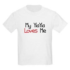 My YiaYia Loves Me T-Shirt