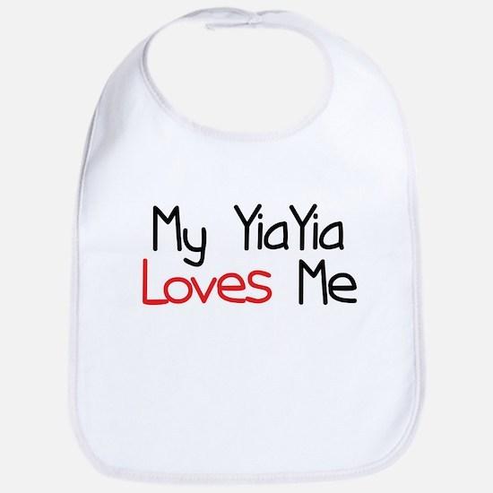 My YiaYia Loves Me Bib