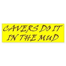 Cavers' bumper sticker