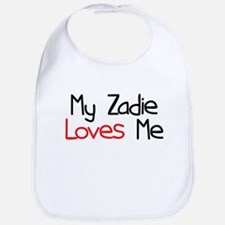 My Zadie Loves Me Bib