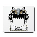 Power Family Crest Mousepad