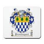 Prendergast Family Crest Mousepad