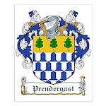 Prendergast Family Crest Small Poster