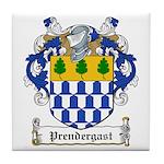 Prendergast Family Crest Tile Coaster