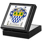 Prendergast Family Crest Keepsake Box
