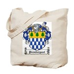 Prendergast Family Crest Tote Bag