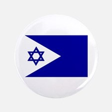 """Israel Naval Flags 3.5"""" Button"""
