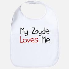 My Zayde Loves Me Bib