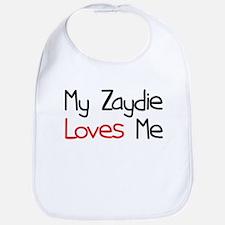 My Zaydie Loves Me Bib
