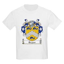 Regan Family Crest Kids T-Shirt