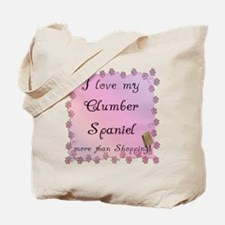 Clumber Shopping Tote Bag