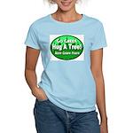 Go Green Hug A Tree! Women's Light T-Shirt