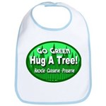 Go Green Hug A Tree! Bib