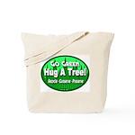 Go Green Hug A Tree! Tote Bag
