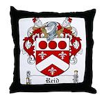 Reid Family Crest Throw Pillow